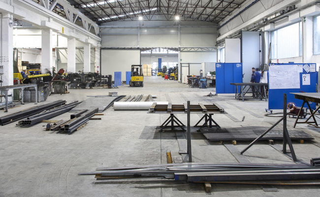 Manufacture of special products and equipment for industries