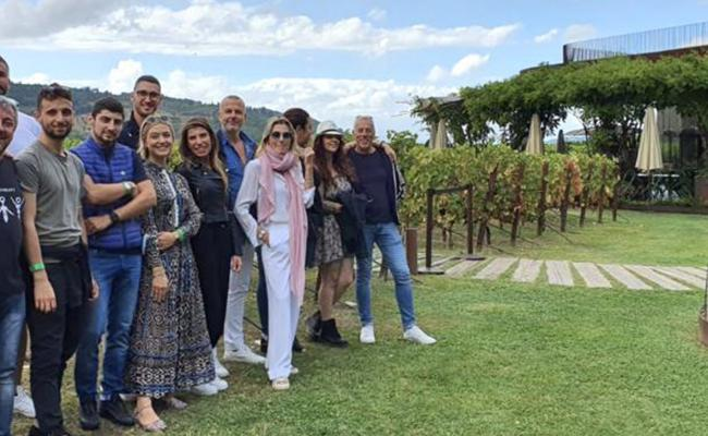Our team building in Tuscany